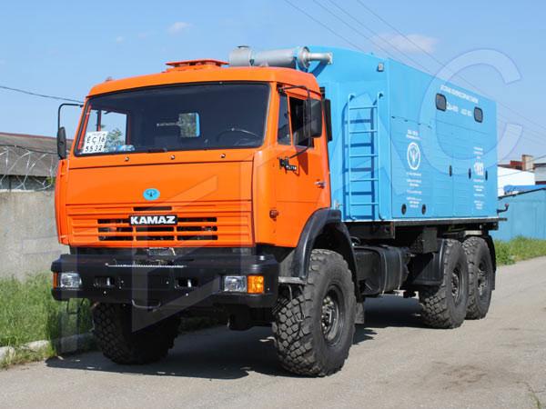 Азотная станция СДА-5/101 – для операций с трубопроводами