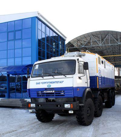 Азотно-компрессорные станиции производства ООО Краснодарский компрессорный завод для ОАО Сургутнефтегаз