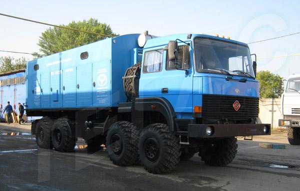 Азотная станция ТГА-10/251 для Белоруснефти