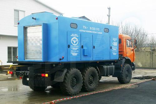 Азотная станция ТГА-5/220 в габарите 2,5 метра